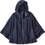 Patagonia W's Synch Lightweight Poncho Navy Blue